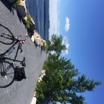 nothing but your bike and the lake