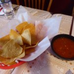 Chips and Spicy Salsa
