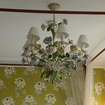 chandalier in room