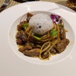 Spaghetti with Morels