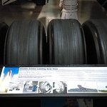 Set of mission used tires from the Space Shuttle