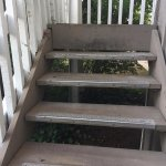 Uneven stairs