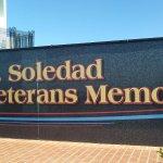 Sign designating the Memorial.