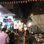 Temple Street Night Market Foto