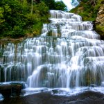 Hector Falls, Hector, NY Foto
