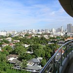 A view from the balcony on the all sides of BKK