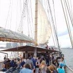 First Sail Going Up