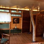 Natural wood made Machan Room enjoyed during my stay