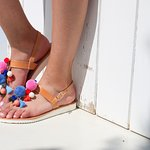Handmade Greek leather sandals!!!! Boho style..