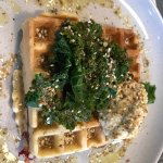 Delicious savoury waffles