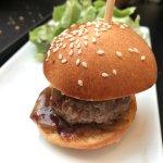 mini burger au foie gras