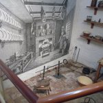 Kitchen in John Walker`s home where Capt Cook was an apprentice