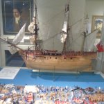 Details of what went into a survey ship HMS Endeavour in 1770