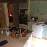 Kitchen looking towards lounge door