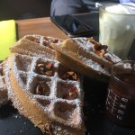 Waffles are the best in Delhi