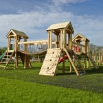 Three Tower Play Structure