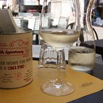 A very nice chilled white wine