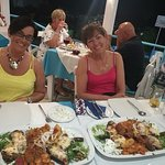 2 x Greek plates for 2
