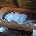 The bed were two men used to sleep in the fishing station