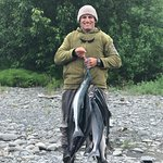What a fun time catching sockeye salmon!!