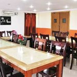 Dining area also doubles as a room for meetings with capacity of 100 people and projector availa