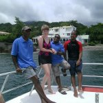 Wonderful crew @ Dive Dominica