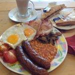 Gigantic English breakfast
