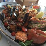Special fish platter - try the white Rioja with it