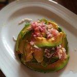 Amazing avocado salad