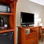 Each of our guest rooms feature a mini fridge, microwave and a coffee maker