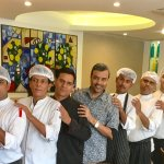With the Chef Brigade of Citrus Cafe Restaurant