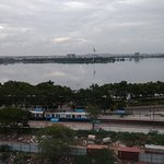 View of the Hussain Sagar Lake from Lake View rooms