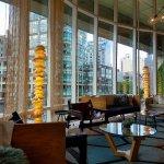 Gorgeous light-filled lobby