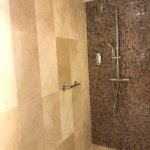 Giant rain shower stall