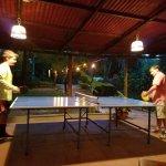 Ping pong at Al Chile, Nosara