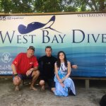 Just finished our final certification dive.