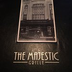 The Majestic Grille menu