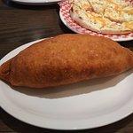 Garlic bread and Panzerotti!