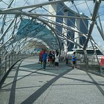 Helix-Brücke Foto