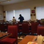 banquet- food area