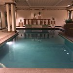 Lovely heated indoor pool at The Peabody. We had the place to ourselves!