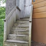 """Welcome """"home.."""" your private entrance to your secluded front porch. :)"""