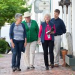 Visitors explore Nantucket's rich history on foot with an NHA Walking Tour.