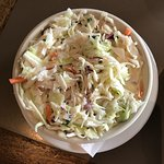 Best Cole Slaw we've ever tasted! Fresh and sweet, with onions.