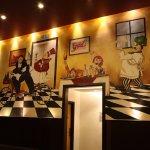 Murales dentro de Grant´s Restaurante...
