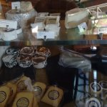 Some of the many cheeses to choice from