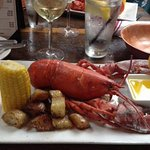 Lobster dinner at Pearl Raw Bar