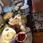 Assorted Salads on Brunch buffet, 2nd Sunday of each month