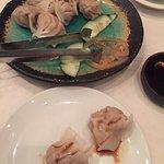 yummy steamed dumplings