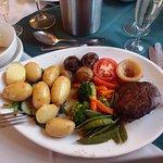 Fillet Steak with vegetables